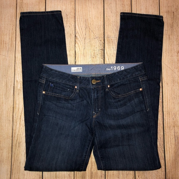 GAP Denim - Gap 28 Real Straight Dark Wash Jean EUC